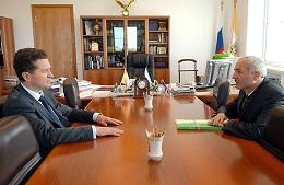 Валерий Гаевский провел встречу с Асланом Каракотовым