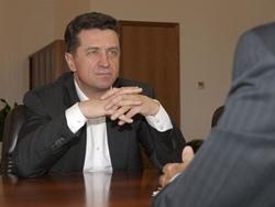 В. Гаевский встретился с директором регионального центра «Южный» ЗАО «Райффайзенбанк»
