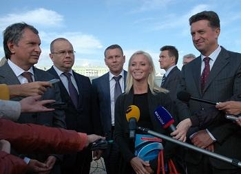 Ставрополье посетил заместитель председателя правительства РФ Игорь Сечин