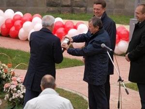 Первый камень в основание строительства газохимического комплекса «Лукойла» заложен в Буденновске