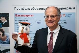 При поддержке ВТБ в ВШМ СПбГУ  выступил Нобелевский лауреат